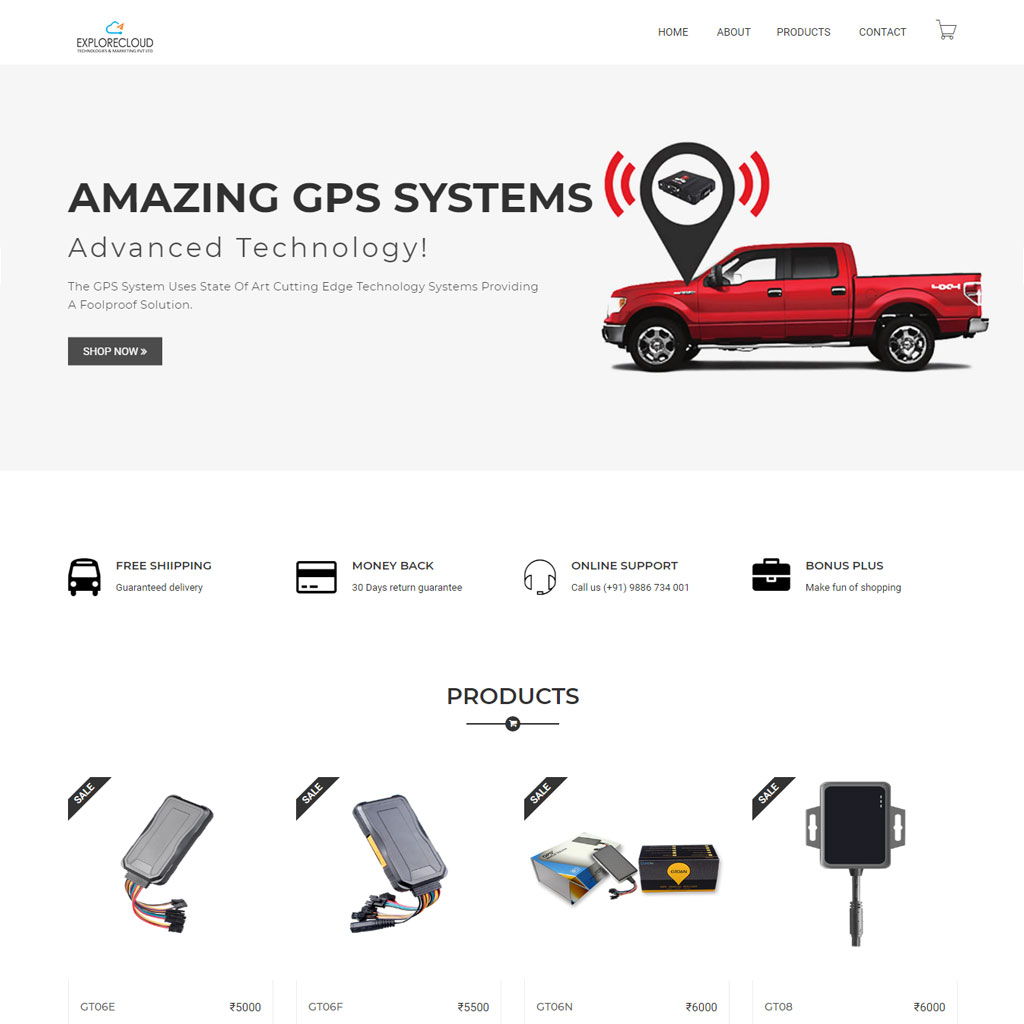 vehicle GPS system web development kochi